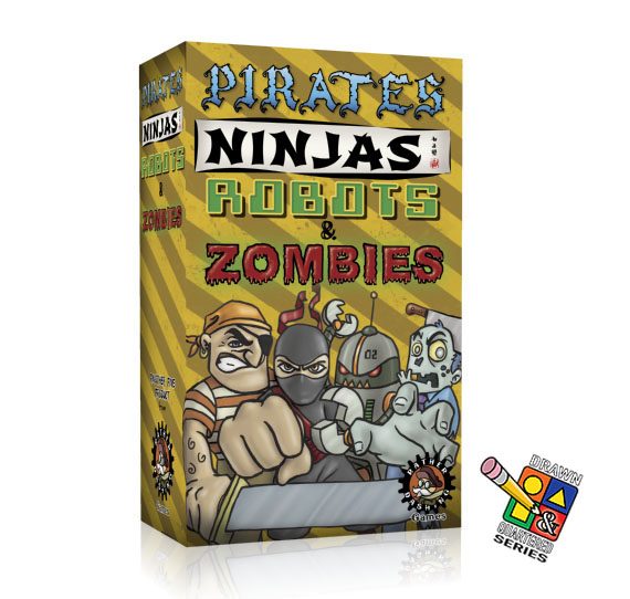 Pirates, Ninjas, Robots & Zombies