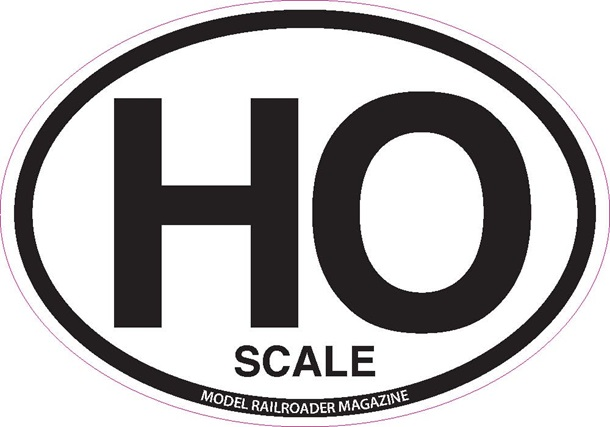 HO Scale decal