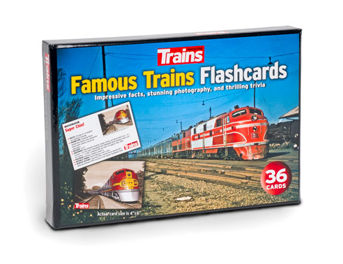 Famous Trains Flashcards