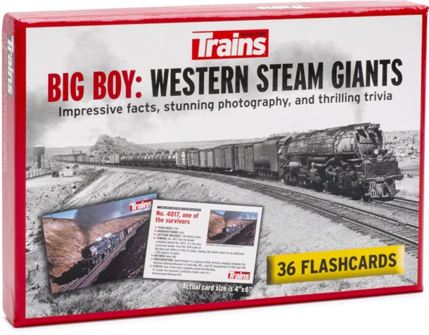Big Boy: Western Steam Giants Flashcards