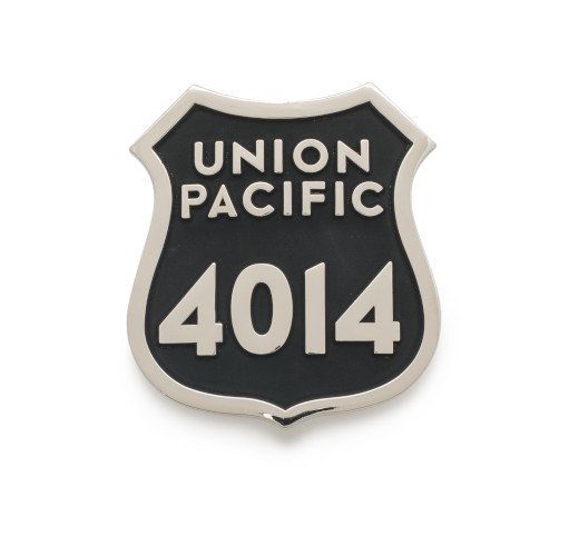 Union Pacific 4014 Spot Plate Belt Buckle