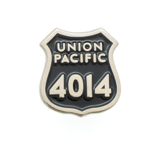 Union Pacific 4014 Spot Plate Pin