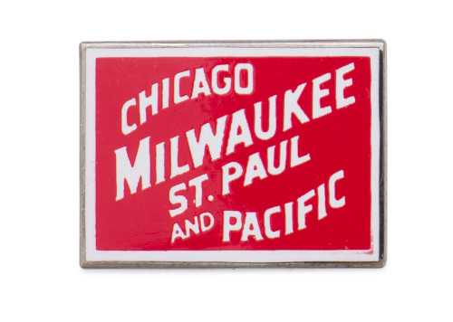 Chicago - Milwaukee - St. Paul - Pacific Pin