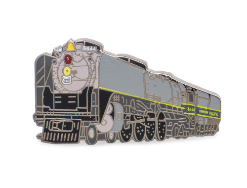 UP 8444 Locomotive 2 Tone Gray Pin