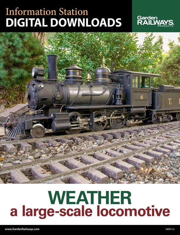 Weather a Large-Scale Locomotive