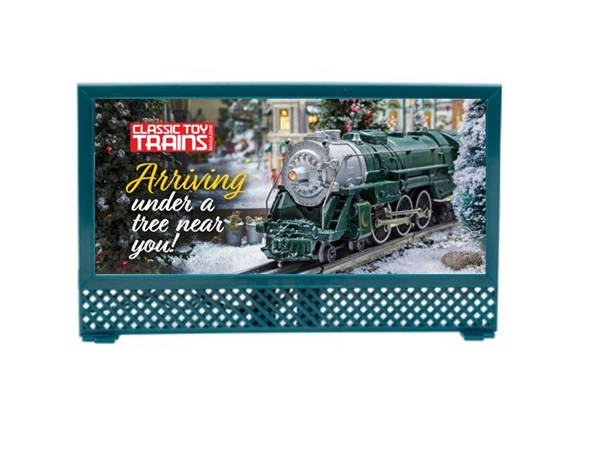 Classic Toy Trains Holiday Billboard