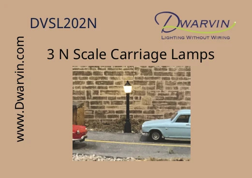 Carriage Lamps N - 3pk