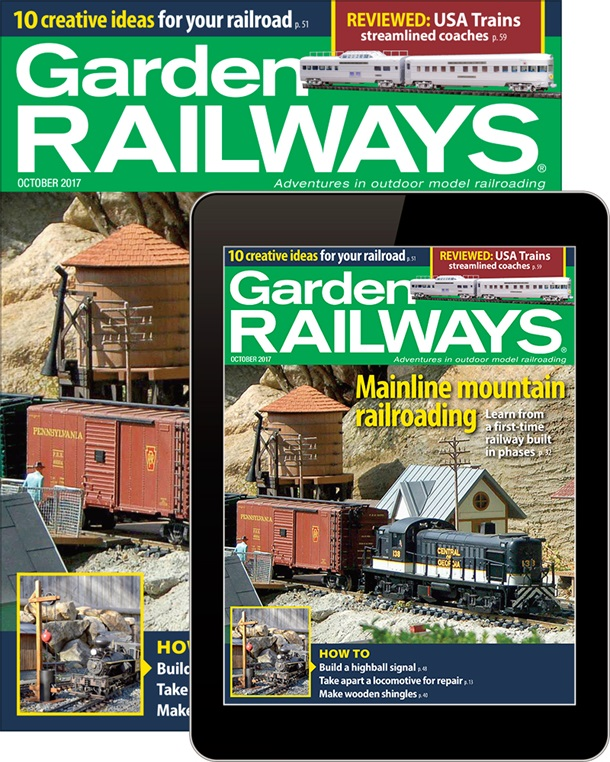 Garden Railways Magazine