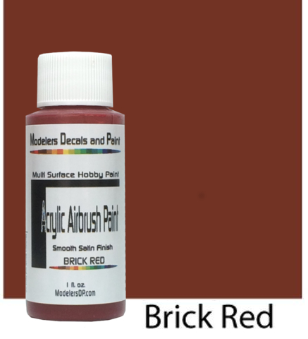 Brick Red Paint