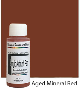 Aged Mineral Red Paint