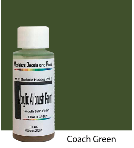 Coach Green Paint