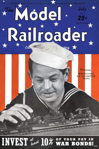 MRR July 1943 Vintage Cover Poster