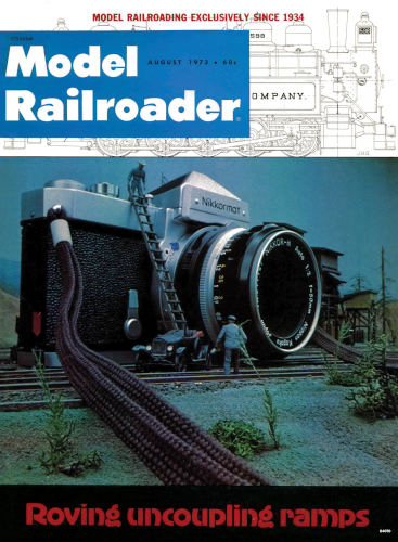 MRR August 1973 Vintage Cover Poster