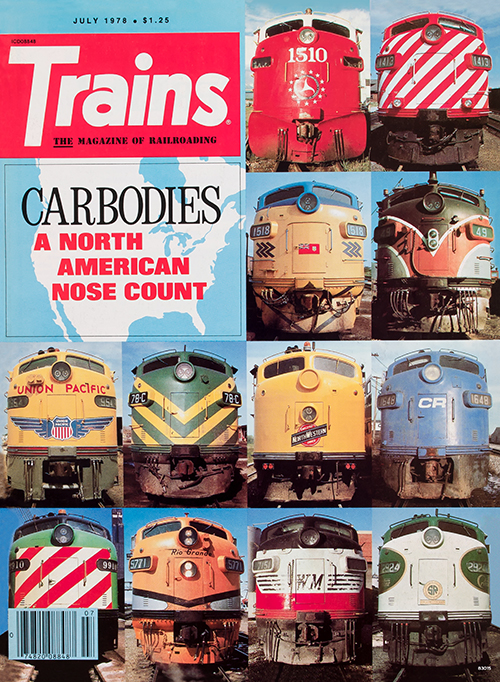 Vintage Trains Cover: Carbodies - July 1978