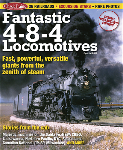 Fantastic 4-8-4 Locomotives