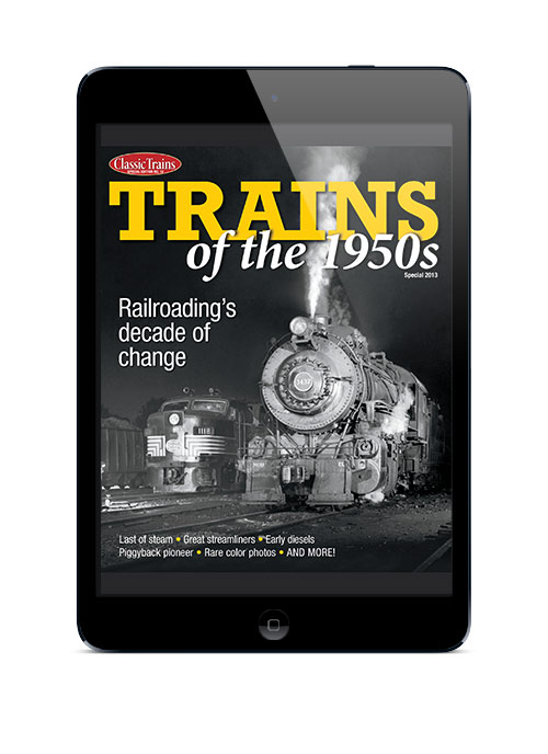 Trains of the 1950s digital