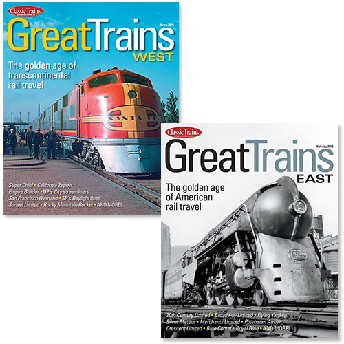 Package Deal: Great Trains East & Great Trains West