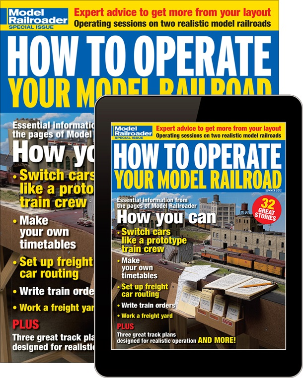 How To Operate Your Model Railroad