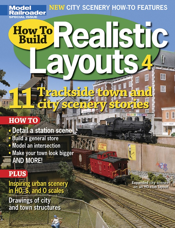 How To Build Realistic Layouts: Trackside town and city scenery
