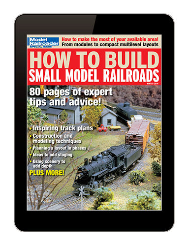 How to Build Small Model Railroads digital