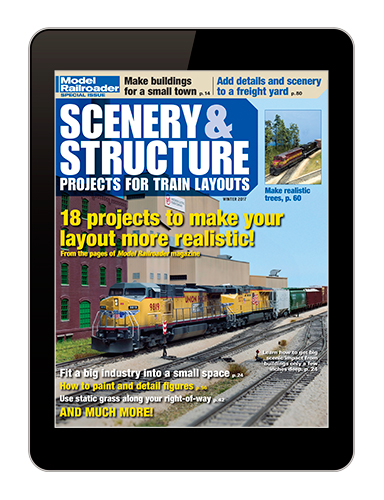 Scenery & Structure Projects for Train Layouts digital