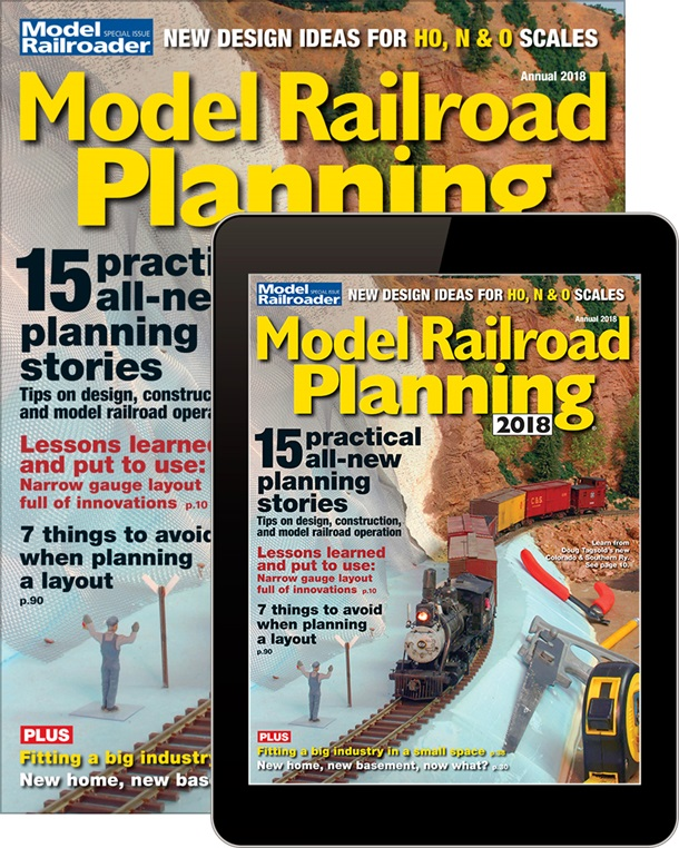Model Railroad Planning 2018