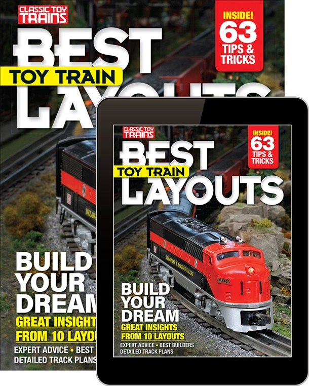 Best Toy Train Layouts