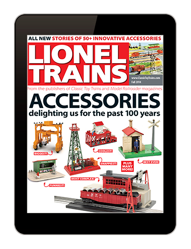 Lionel Trains: Accessories digital