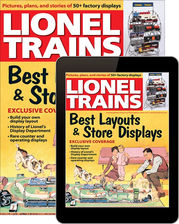 Lionel Trains: Best Layouts & Store Displays