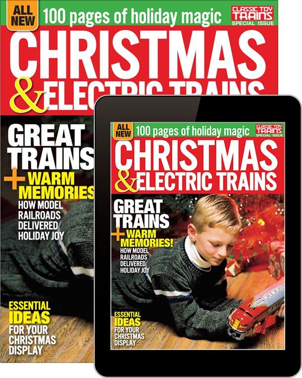 Christmas and Electric Trains