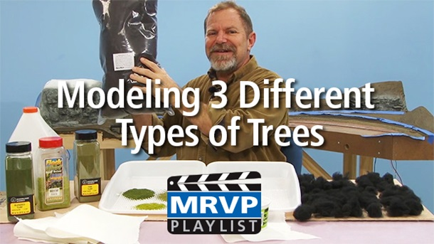 Modeling 3 Different Types of Trees