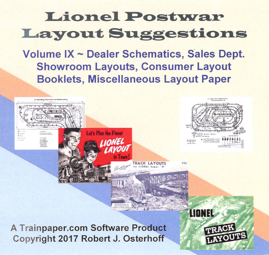 Lionel Postwar Layout Suggestions Volume IX DVD
