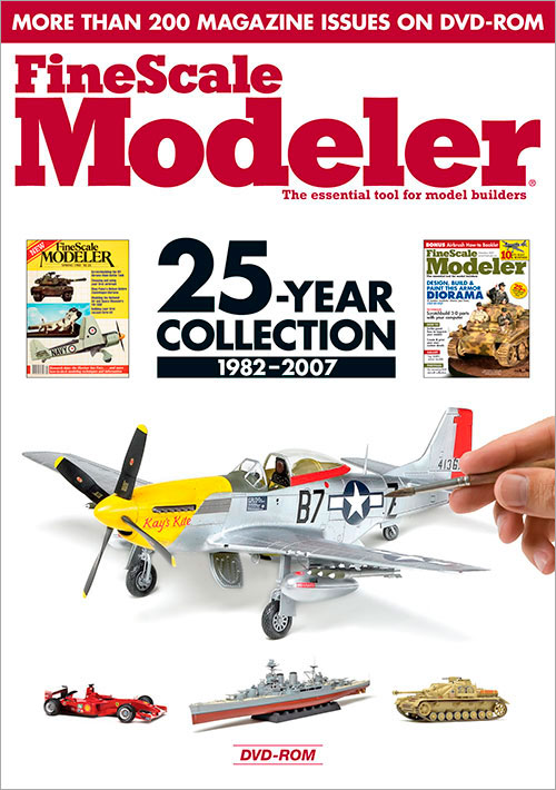 FineScale Modeler: 25-Year Collection 1982-2007 DVD-ROM