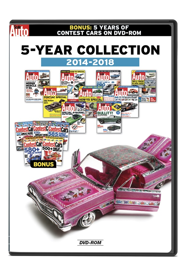 Scale Auto: 5-Year Collection 2014-2018 DVD-ROM