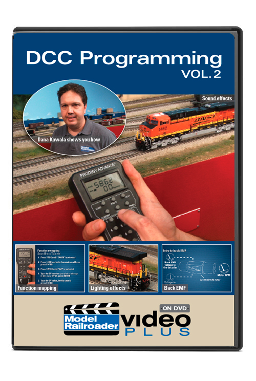 DCC Programming DVD vol. 2