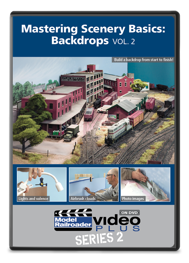 Mastering Scenery Basics: Backdrops DVD Vol. 2