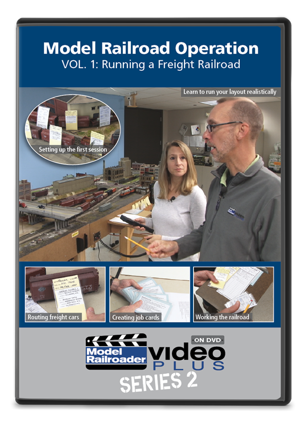 Model Railroad Operation Vol  1: Running a Freight Railroad DVD