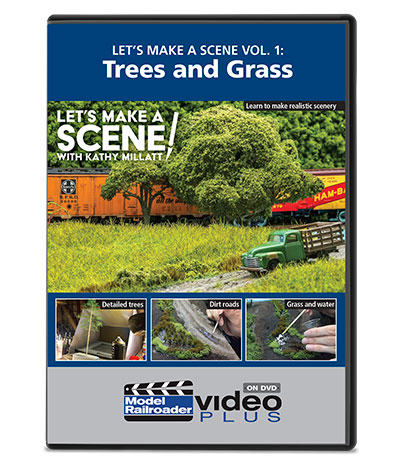 Let's Make a Scene Vol. 1: Trees and Grass DVD