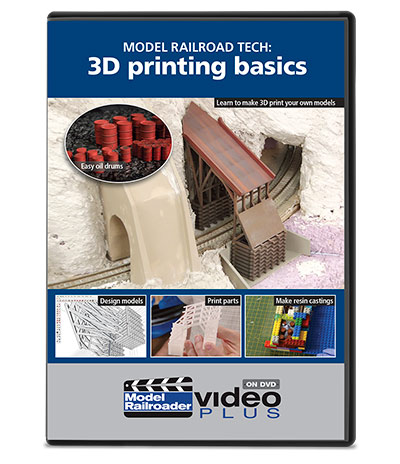 Model Railroad Tech: 3D Printing Basics DVD