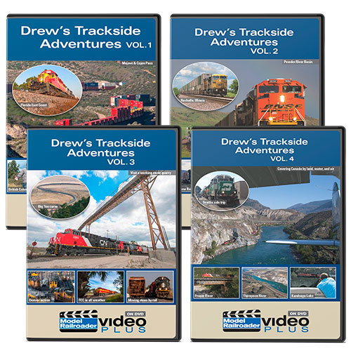 Drew's Trackside Adventures 4-Disk Set