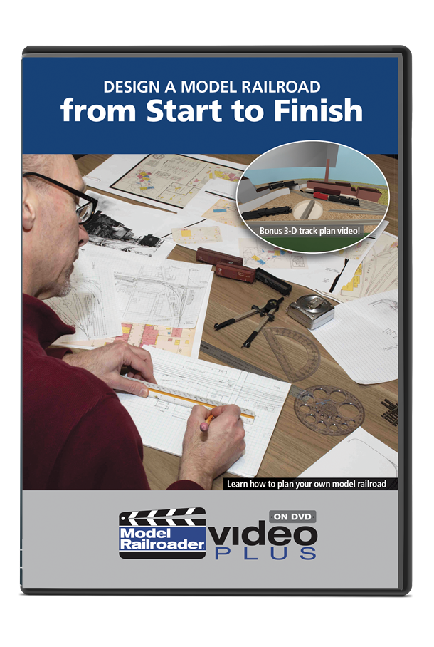Design a Model Railroad from Start to Finish DVD