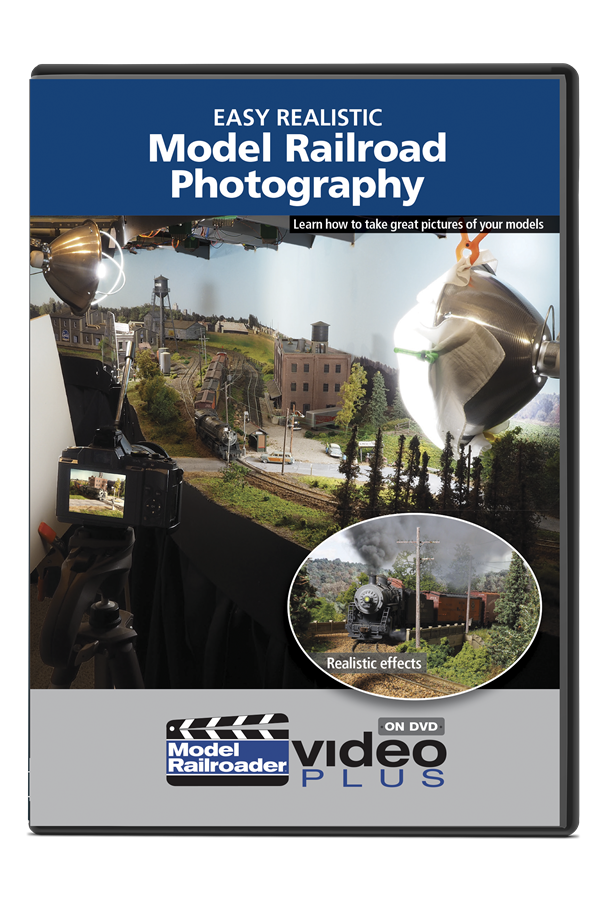 Easy Realistic Model Railroad Photography DVD