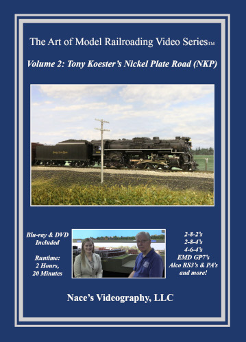 Volume 2: Tony Koester's Nickel Plate Road - Blu-ray & DVD