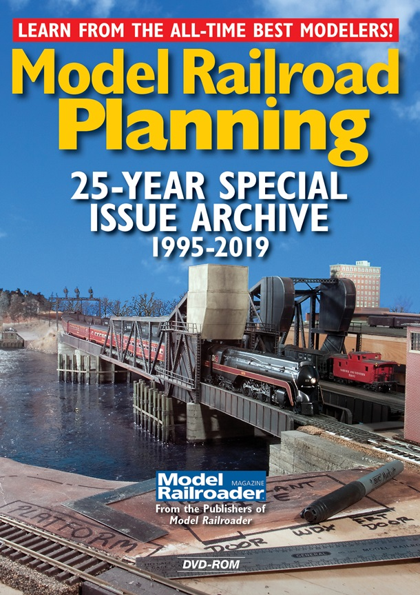 Model Railroad Planning 25 Year Archive DVD-ROM