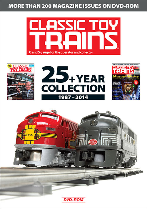 Classic Toy Trains: 25 Years and Counting on DVD-ROM