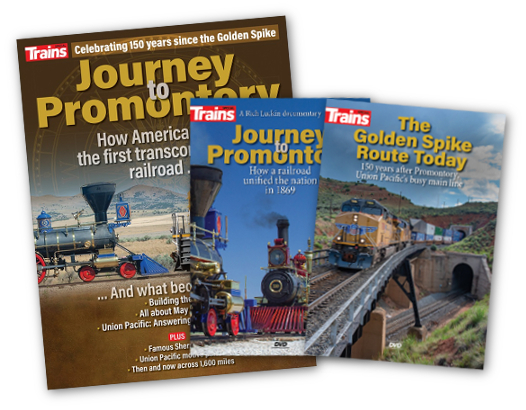 Journey to Promontory Special Issue and 2 DVD Set