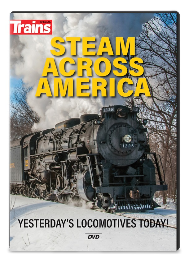 Steam Across America DVD