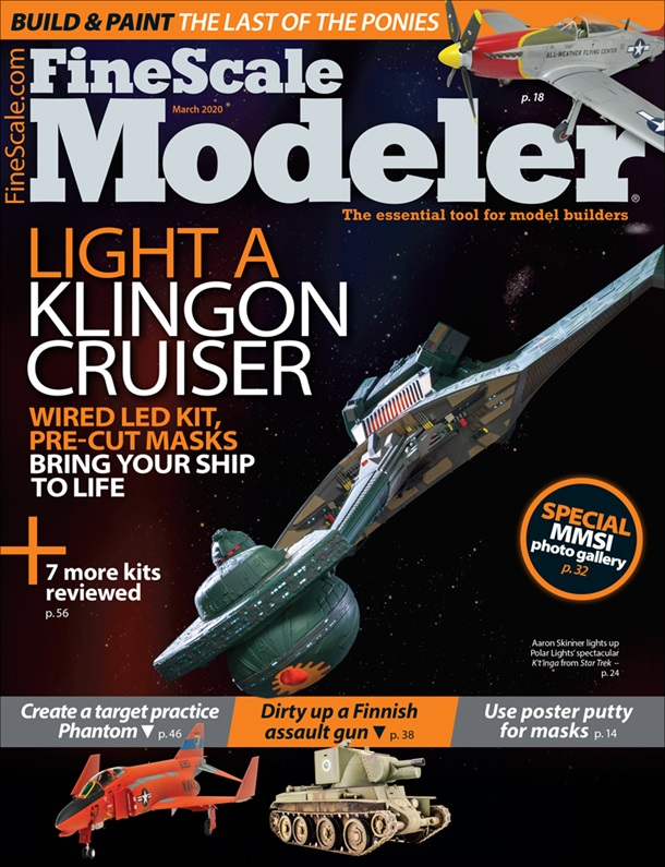 FineScale Modeler March 2020