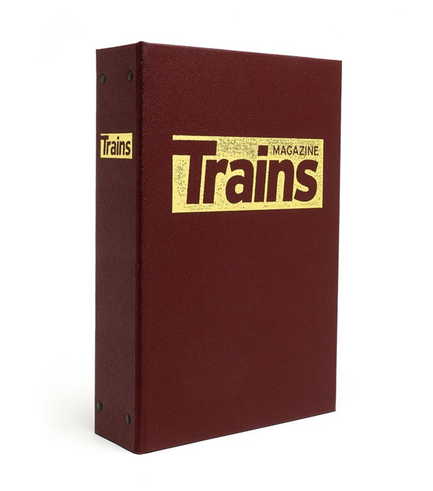 Trains Magazine Binder
