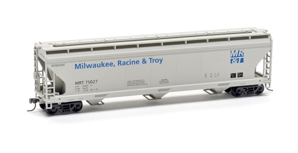 Milwaukee Racine & Troy Center Flow Covered Hopper Kit - Limited Edition